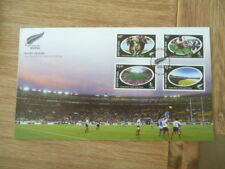 New Zealand 2004 fdc  Rugby Sevens    full set of  stamps