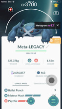 Pokemon Go trading  lv40 Legacy  Metagross  2nd charge move Master league PVP