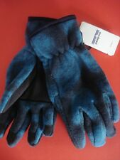 PATAGONIA SYNCH GLOVES FLEECE TEAL/BLACK SMALL NEW