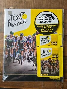 Tour De France Sticker Collection Starter Pack And 100 Packs Of Stickers
