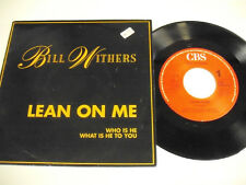 BILL WITHERS  Lean On Me  1 SP