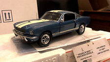 Franklin Mint 1966 Mustang Shelby GT350 1/24 NO. 907 of 1966 Saphire Blue