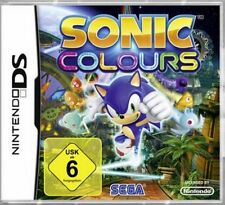 Nintendo DS 3ds Sonic Colours guterzust tedesco.