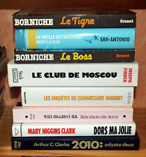 POLICIERS   SF  AMOUR   ESPIONNAGE----------------LOT 2