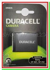 Batteria Ricaricabile DURACELL DR9678 = SONY NP-BD1 NP-FD1 x DSC-T900 DSC-TX1