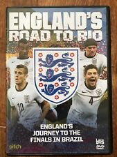 ENGLAND'S ROAD TO RIO ~ 2014 Brazil World Cup Soccer Football UK DVD