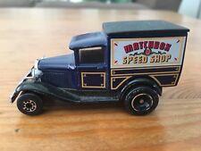Matchbox Superfast Blue Diecast Model A Ford 1979, Matchbox Speed Shop