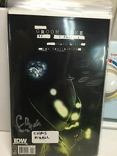 Groom Lake #4 signed by chris ryall