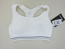 2bb1173fb4 Marika Tek Medium Impact Padded Sports Bra - Womens Small - White - NWT