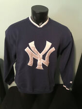 Vtg New York Yankees Starter Embroidered Sweatshirt Mens size Medium