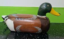 More details for duck wooden telemania telephone vintage 1980s mallard landline