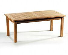 Winchester Wooden Rectangular Garden Coffee Table 120x60x50cm - Sustainable Teak