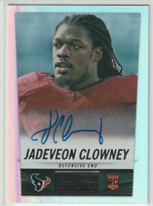 Jadeveon Clowney Cleveland Browns Texans 2014 Panini Score Hot Rookies # AUTO RC