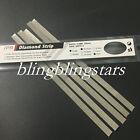 Dental Orthodontic IPR Diamond Strips Stainless Double/Single 2.5/4/6mm 20-70um