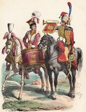 Garde Impériale Chevau Légers Pologne Timbalier Chasseur à Cheval Poland 1840