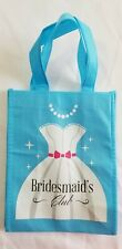 Bridesmaids gifts bags light blue only 2.Open box