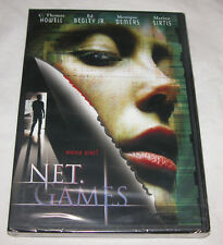 New - Net Games DVD, 2003, Drama, C. Thomas Howell, Free Shipping U.S.A.