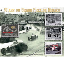 monaco 2019 90 Grand Prix formula 1 racing car Ayrton Senna LOTUS BUGATTI ms4v