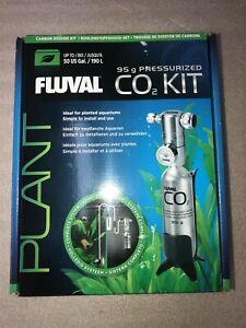 Fluval Pressurized CO2 Kit Plants & Planted Aquariums Bracket 95g. #5579