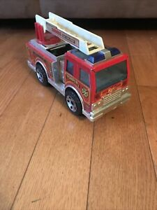 1988 BUDDY L Big Bruiser Pumper Fire Truck, Siren & Lights, Plastic/Metal
