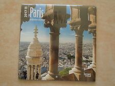 PARIS FRANCE 2017 18 MONTH CALENDAR ( SEALED BRAND NEW ) 7 X 7