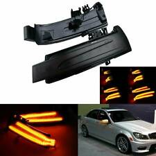 Dynamic LED Side Mirror Indicator Turn Signal Light For Mercedes Class W204 W246
