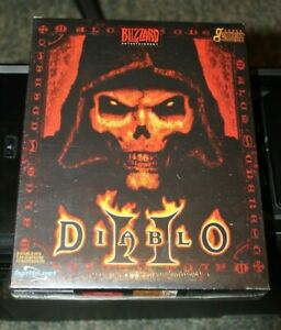 PC Diablo II - version Française neuf - French version - FACTORY SEALED