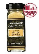 Trader Joe's Spices Of The World California Garlic Powder sesame Seasoning grill