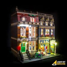 LIGHT MY BRICKS - LED Light Kit for LEGO  Pet Shop 10218 set - NEW