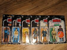 Star Wars Retro Collection The Empire Strikes Back Complete Set Of 6 Figures