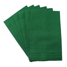 "Hemstitch Fingertip Towels - 100% Linen - Green - 14"" x 22"" - Embroidery Blanks"