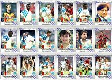 Marseille European Champions League 1993 football trading cards