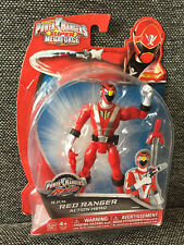 "RED RPM R.P.M Power Rangers 5""  SUPER megaforce Action Figure MMPR Bandai"