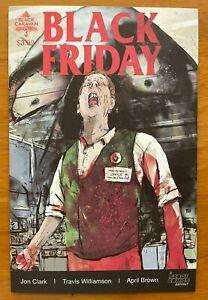 BLACK FRIDAY #3 Travis Williamson Main Cover A 1st Print  Scout Comics NM