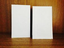 100 # 6 1/2 Security Tint Strip and Seal White Envelope