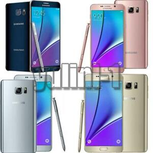 Samsung Galaxy Note 5 N920 32GB 64GB Factory GSM UNLOCKED 4G Android Smartphone