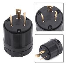 NEMA L6-30P 30A 250V 3-pole Wire Twist Lock Electrical US Male Plug Connector GL