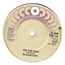 "Blackfoot - On The Run - 7"" Record Single"