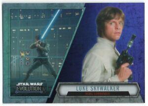 2016 Star Wars Evolution Lightsaber Purple 30 Luke Skywalker Rebel Commander