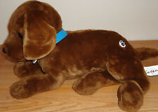 "NINTENDOGS Chocolate Lab Puppy Dog Interactive 13"" plush"