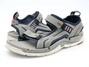 Teva Mens 11 Gray Shoc Pro Arch Support Outdoor Slide Slingback Sandals EUR 44.5