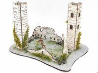 Burg Burgruine Burganlage mit Rehen und Ausstattung Spur N D0666