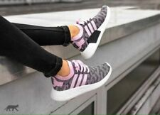 adidas Originals Women's BY9521 NMD R2 Primeknit Sneakers Shoes Pink MRSP $170