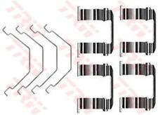 PFK331 TRW Kit d'accessoires, frein à disque PLAQUETTES ESSIEU AVANT
