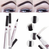 Eyebrow Tattoo Pen Waterproof Fork Tip Patented Ink Sketch Microblading Makeup.