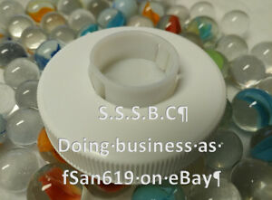 3 (Total) 53mm 3&5 Gallon Screw On Spill-less LOADING Caps (fits American Maid)