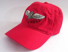MENS AMERICAN EAGLE NU-FIT RED HAT FITTED CAP SIZE S/M