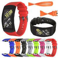 For Samsung Gear Fit 2/2 Pro SM-R360 Silicone Replacement Wrist Band Bracelet