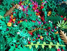 Lego 20pce Foliage Pack - Random Selection Flowers Shrubs Palm Leaves Bush Pack