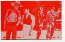 BUDDY ROOSEVELT Vtg Exhibit Arcade Western Movie Card